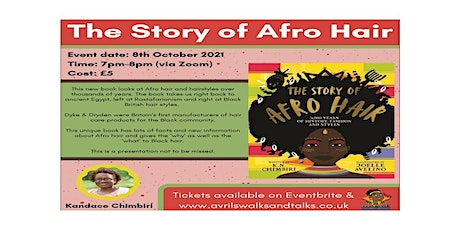 A  Presentation by K N Chimbiri - The Story of Afro Hair tickets