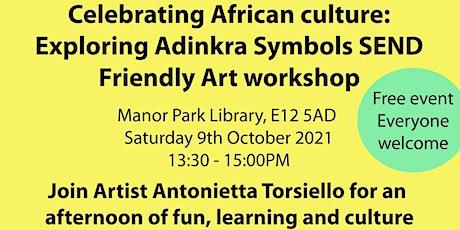 Black History Month Art Workshop - Exploring Adinkra Symbols tickets