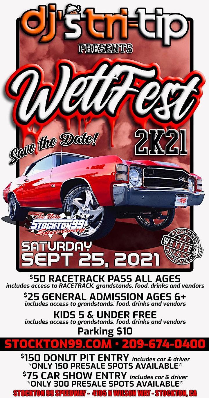 WettFest Stockton 2K21 September 25th image
