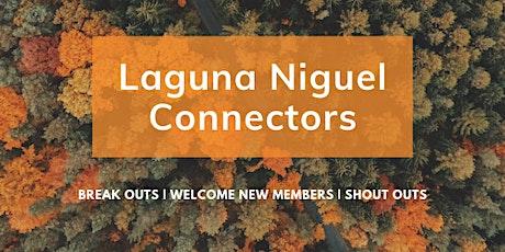 Laguna Niguel Connectors (LNC) Oct 2021 VIRTUAL Networking Event tickets