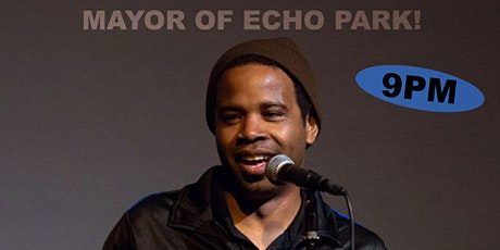 The Mayor of Echo Park! Terrence Newman headlines the Club tickets