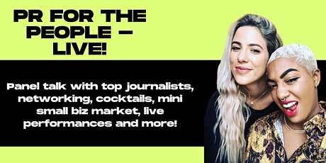 PR for the People Live Panel Talk & Networking Event tickets
