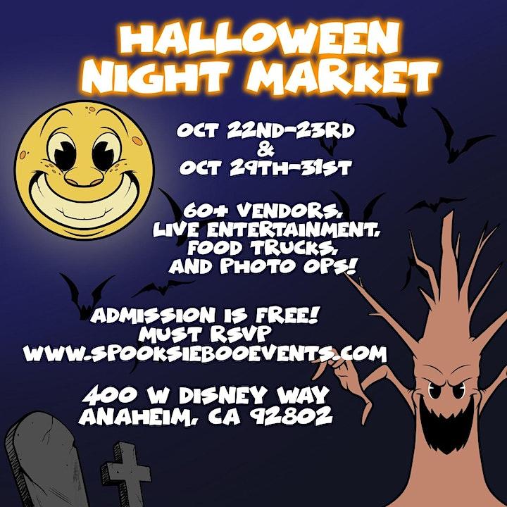 Halloween Night Market: October 23 image