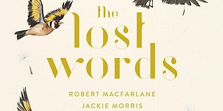 Lost Words - a children's workshop tickets