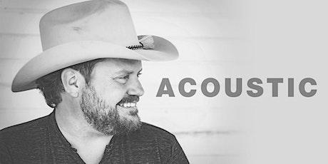 Randy Rogers, Brady Black, & Geoffrey Hill Acoustic! tickets