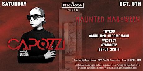 The Blackroom - Haunted Halloween w/ CAPOZZI tickets