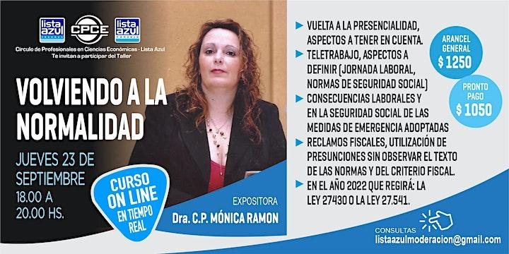 Imagen de VOLVIENDO A LA NORMALIDAD
