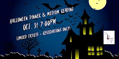 SOLD OUT -  Uva's Halloween Dinner  & Medium Reading tickets