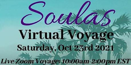 TAKE A VIRTUAL VOYAGE TO SOULAS' SUMMER PARADISE! tickets