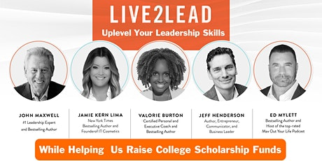 2021 Live2Lead Scholarship Charity Fundraiser - Folds Of Honor tickets