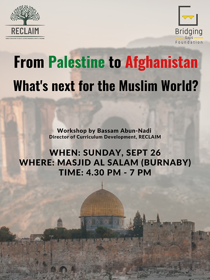 Palestine to Afghanistan: What is next for the Muslim World? image