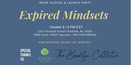 Expired Mindsets Book Signing & Launch Party tickets