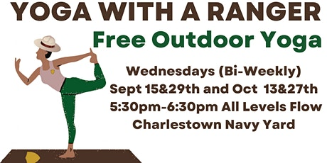 Yoga with a Ranger *FREE & OUTDOOR* tickets
