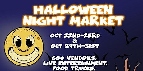 Halloween Night Market: October 29 tickets