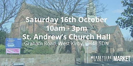 Merseyside Makers Market - October tickets