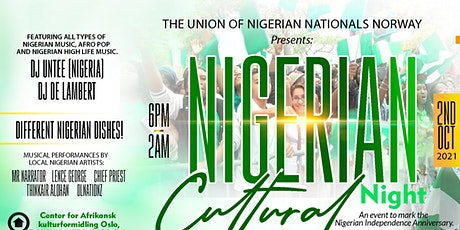 Nigerian Cultural Night tickets