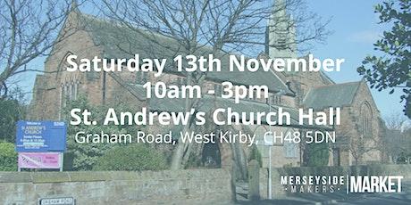 Merseyside Makers Market - November tickets