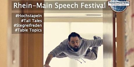 Rhein Main Speech Festival 2021 - The Flying Toastmaster Tickets