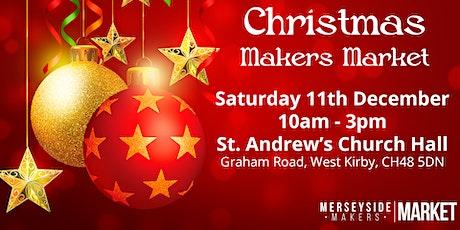 Merseyside Makers Market - December tickets