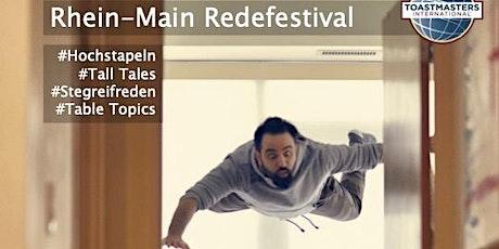 Rhein-Main Redefestival 2021 -  Der fliegende Toastmaster Tickets