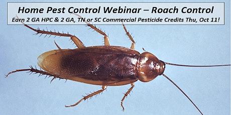Pest Manager Webinar HPC (Home  Pest Control) tickets