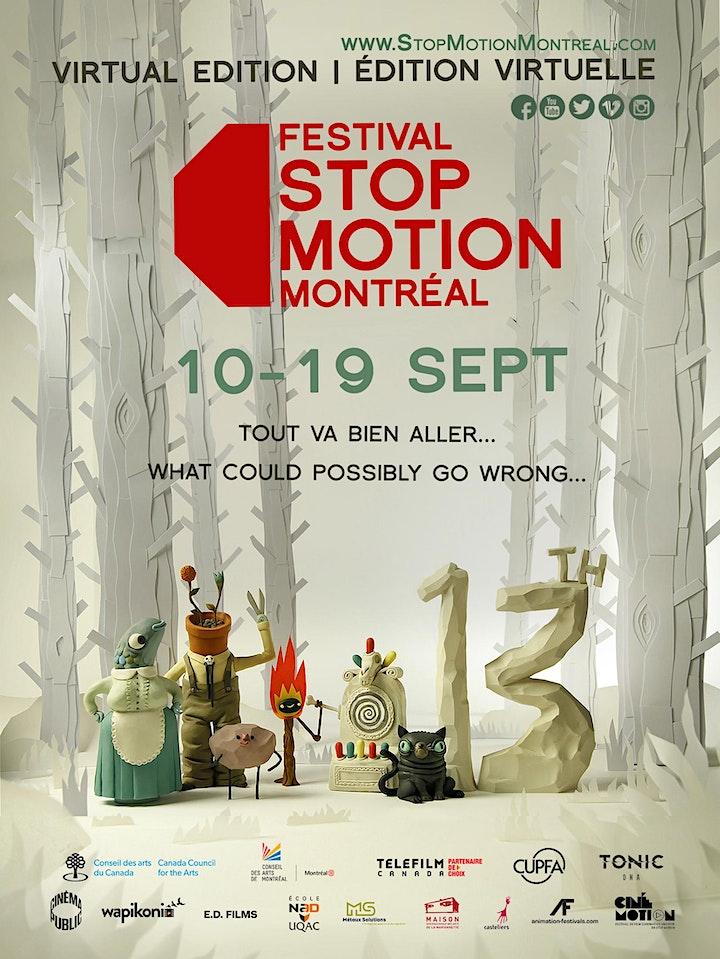 Festival Stop Motion Montréal 2021 image