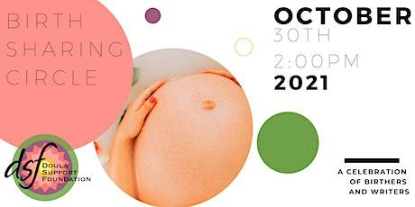 Birth Sharing Circle 2021 tickets