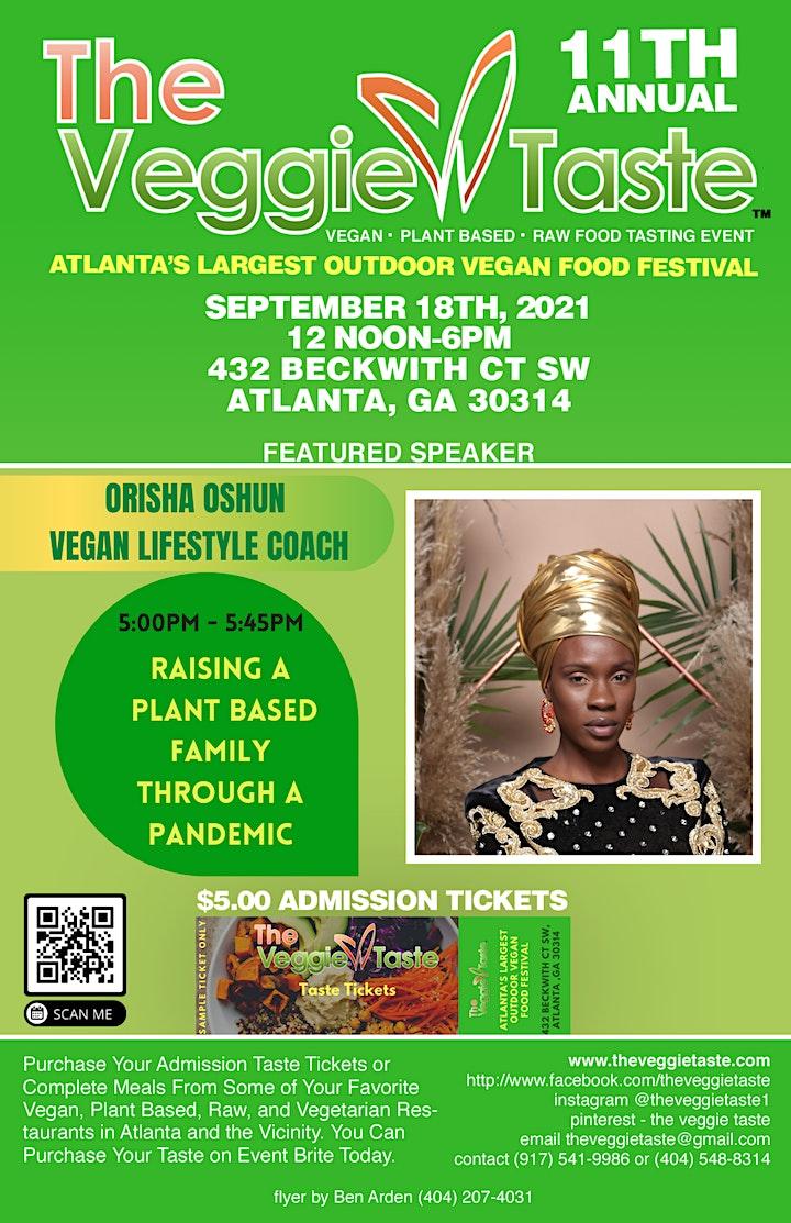 The Veggie Taste - 11th Annual - 9.18.21 image