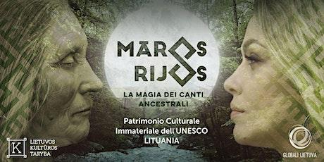 Maros Rijos: la magia dei canti ancestrali a San Gimignano biglietti