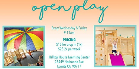 Open Play tickets