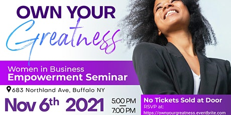 Own Your Greatness tickets