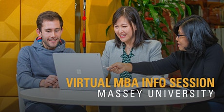 International Virtual MBA information session tickets