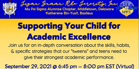 Supporting Your Child for Academic Excellence tickets