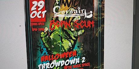 Music Space Halloween Throwdown tickets