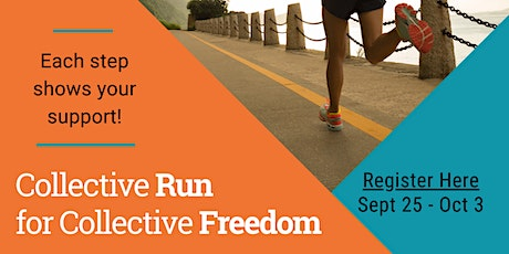 Collective Run for Collective Freedom - Inaugural Virtual 5K tickets