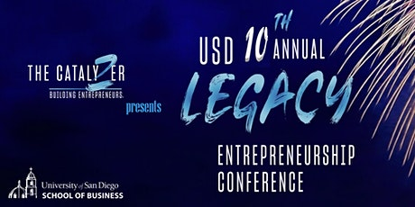 10th Annual USD Legacy Entrepreneurship Conference (In-Person Event) tickets