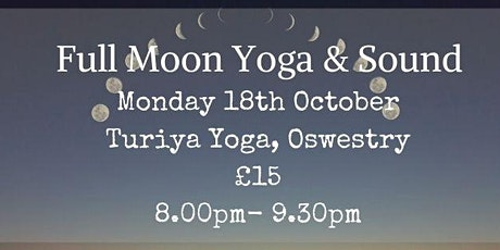 Full Moon Yoga and Sound tickets