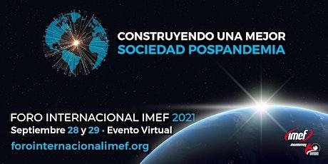 Foro Internacional IMEF 2021 entradas