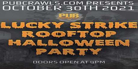 Rooftop Halloween Party at Lucky Strike tickets
