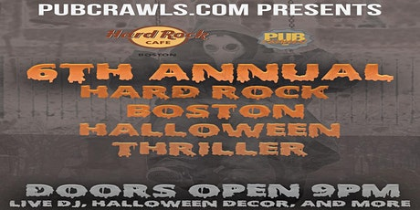 6th Annual Hard Rock Boston Halloween Party tickets