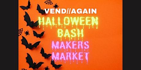 October Halloween Bash Makers Market tickets