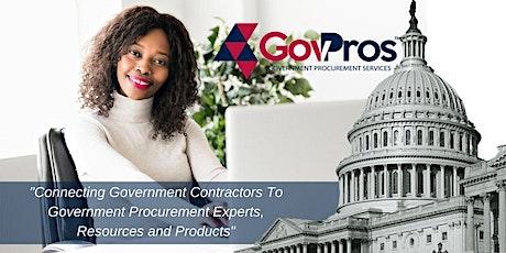 GovPros  Pre-Launch  Webinar: Service Providers Registration tickets