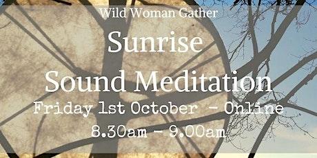 Sunrise - Morning Soundbath tickets