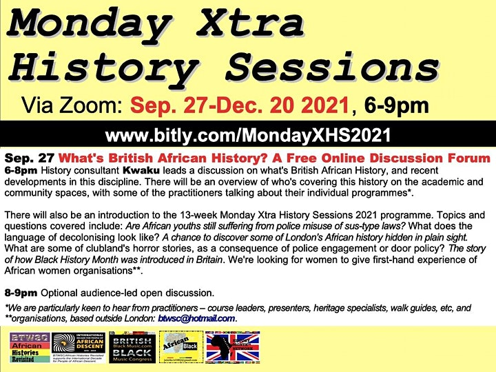 What's British African History? A Free Online Discussion Forum image