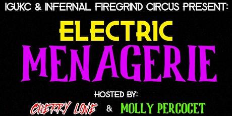 Electric Menagerie 2.0 - Dark Underground Drag Night tickets
