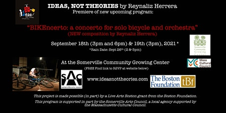 BIKEncerto: a concerto for solo bicycle and orchestra tickets