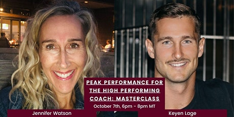 Peak Performance for the High Performing Coach tickets