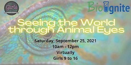 100 Girls of Code & BioIgnite present Seeing the World through Animal Eyes boletos