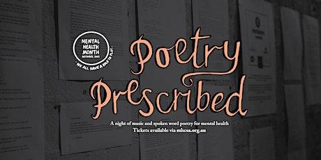 Poetry Prescribed 2021 tickets