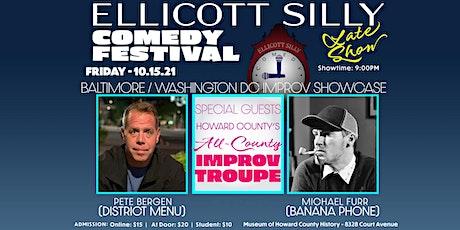 Ellicott Silly Comedy Festival presents B-more /Washington Improv Showcase tickets